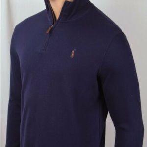 NWT - Polo Ralph Lauren Navy 1/4 Zip